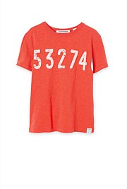 Number Chest T-Shirt