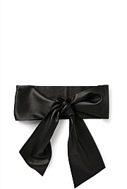 Soft Leather Tie Belt
