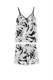 Tropical Print Cami Set