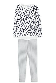 Heart Stripe Pyjama