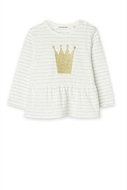 Stripe Crown T-Shirt