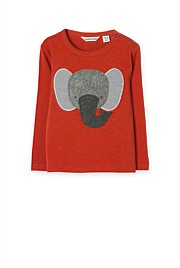Elephant Applique T-Shirt