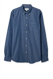 Long Sleeve Regular Chambray Dobby Shirt