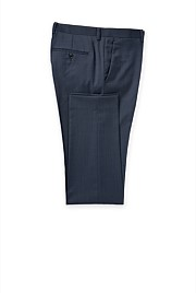 Regular Wool Blend Jacquard Pant