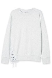 Lace Up Pull Over