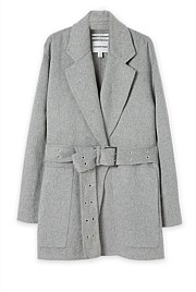 Double Faced Wool Short Coat