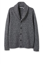 Speckle Shawl Cardigan