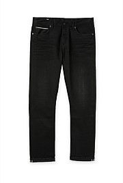 Slim Black Selvedge Jean