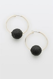 Holly Ball Earring