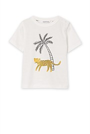 Leopard Stripe T-Shirt
