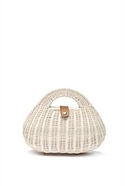 Structured Straw Bag