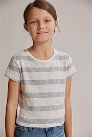 Stripe Block T-Shirt
