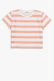 Metallic Stripe Block T-Shirt