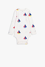 Rib Sailboat Bodysuit