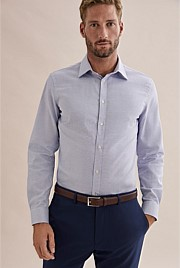 Slim Micro Textured Shirt