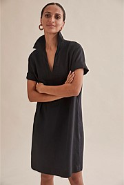 Linen Popover Dress