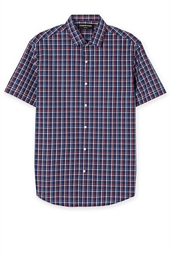 Slim Scotch Check Shirt