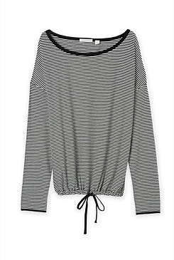 Stripe Pullover Top