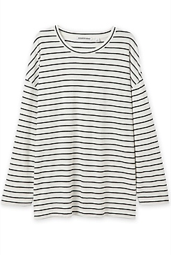 Tinted Stripe Top