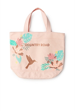 Tropical Bird Tote