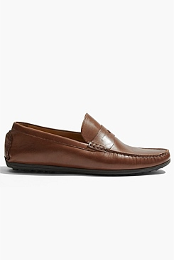 Vern Leather Driving Moccasin