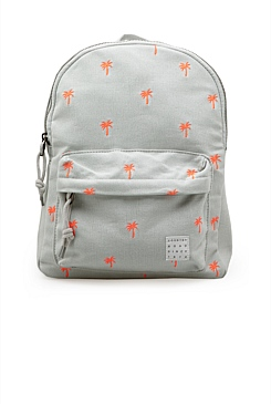 Palm Embroidered Backpack
