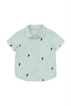 Embroidered Toucan Shirt