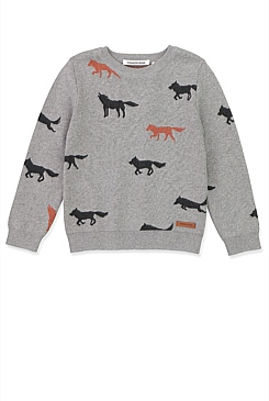 Wolf Pack Knit