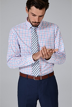 Regular Exploded Gingham Shirt