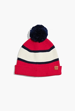 Panel Knit Beanie