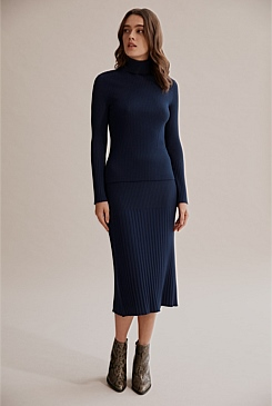 Pleat Rib Knit