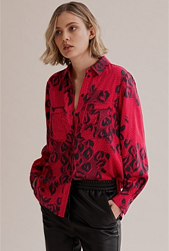 Print Full Sleeve Shirt