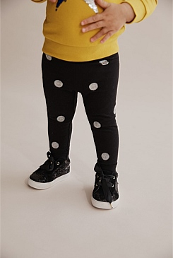 Sequin Spot Legging