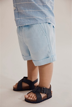 Drawcord Linen Short