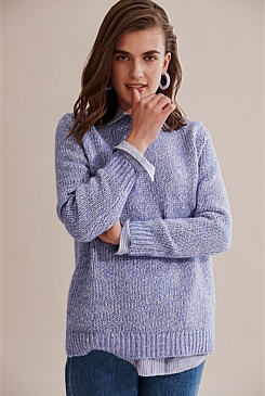 Relaxed Stitch Knit