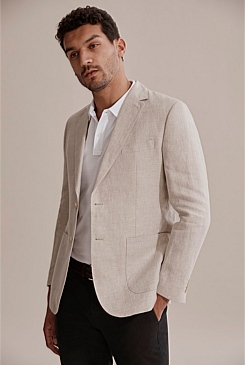 Regular Micro Textured Blazer