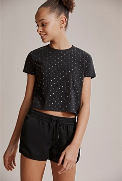 Cotton Slub Star T-Shirt