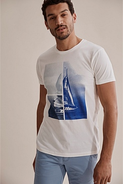 Yacht Photo T-Shirt