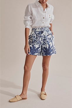 Pleated Waist Short