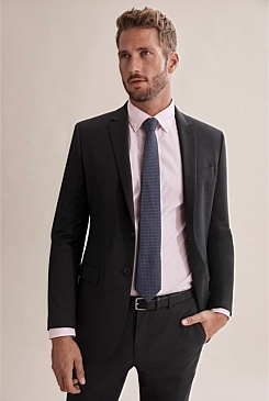 Slim Sharkskin Jacket