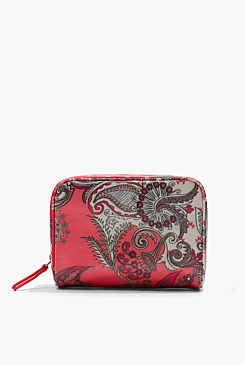 Paisley Medium Cosmetic Bag