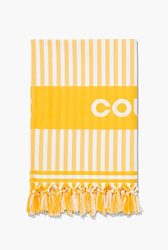 Coolum Travel Beach Towel
