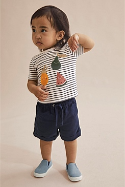 Stripe Fruit T-Shirt