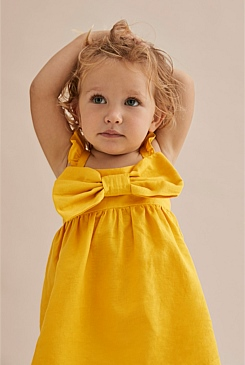 Bow Frill Dress