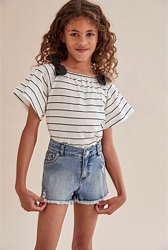 Bow Stripe T-Shirt