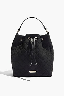 Quilted Backpack Bag