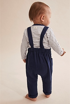 Unisex Crinkle Overall
