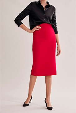 Compact Knit Skirt