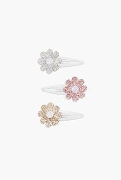 Flower Clip Pack of 3
