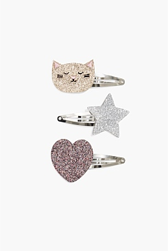 Cat Clip Pack of 3